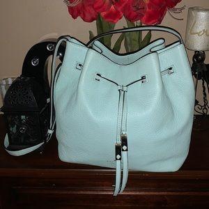 Kate Spade Tiffany Blue Cooper Large Bucket Bag
